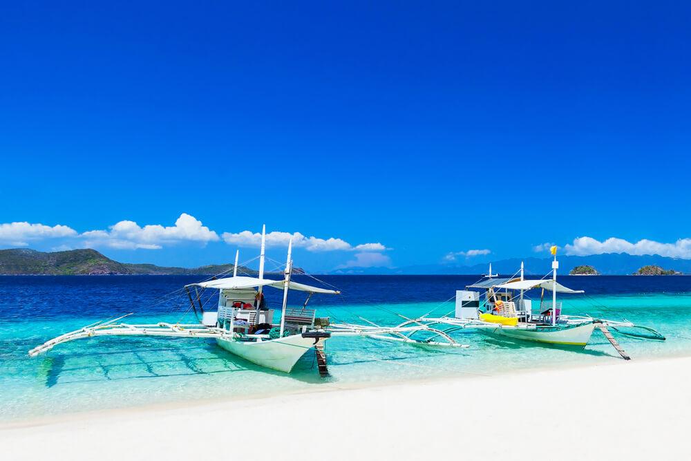 Boracay White Sand Beach Philippinen