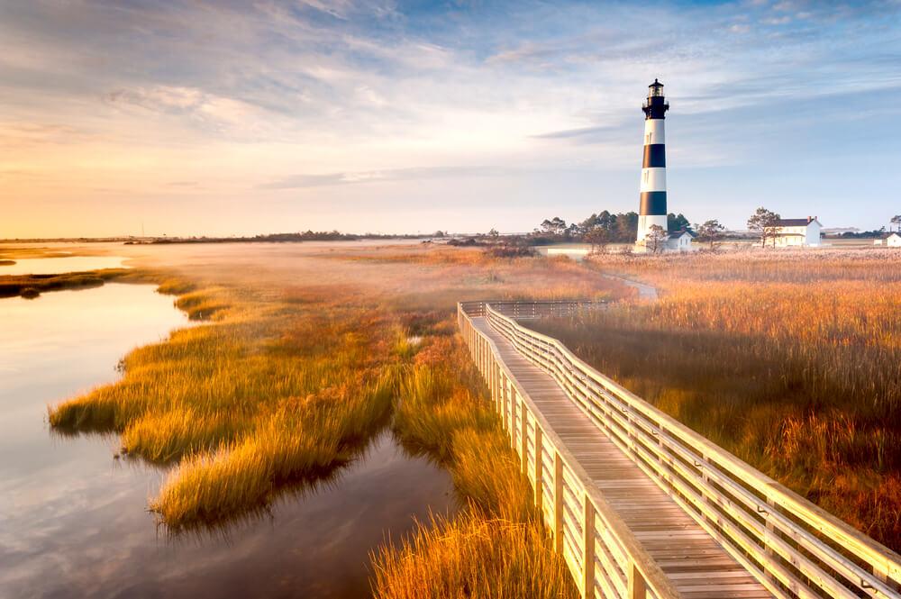 Cape Hatteras North Carolina - Strände USA