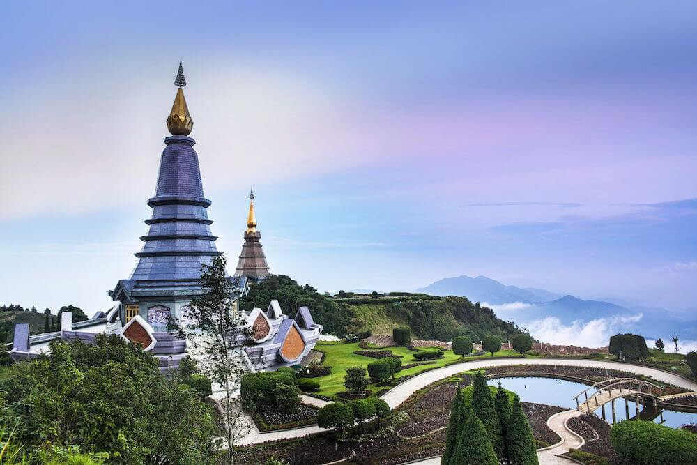 Doi Inthanon, Chiang Mai Asien Reiseziele