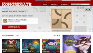 Kongregate Spielewebseiten im Netz