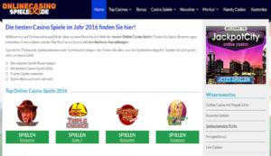 Onlinecasinospiele24.de Spielewebseiten im Netz