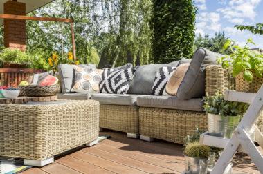 Die beste Chillout Lounge im Garten