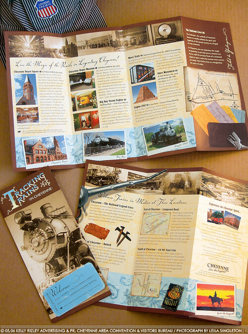 Flyer-Design-Inspirationen Reisen und Touren
