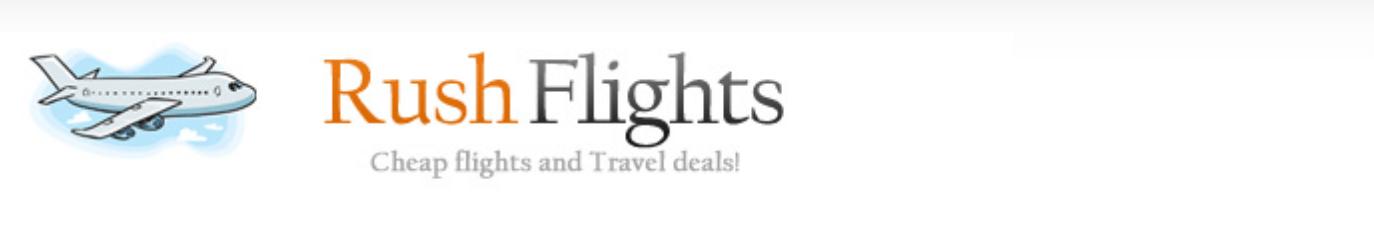RushFlights Logo